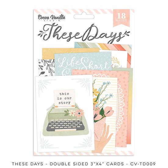 These Days Pocket Cards // Cocoa Vanilla Studio