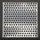 Thumbnail: 12 x 12 Peek-A-Dot Stencil