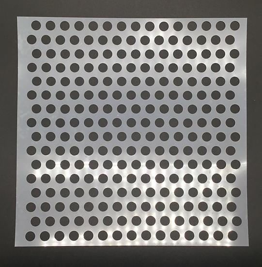 12 x 12 Peek-A-Dot Stencil