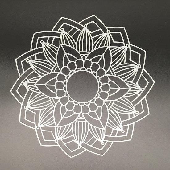 Mandala #4 Stencil