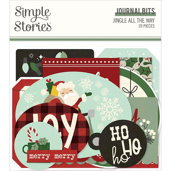 Simple Stories / Jingle All the Way Journal Bits