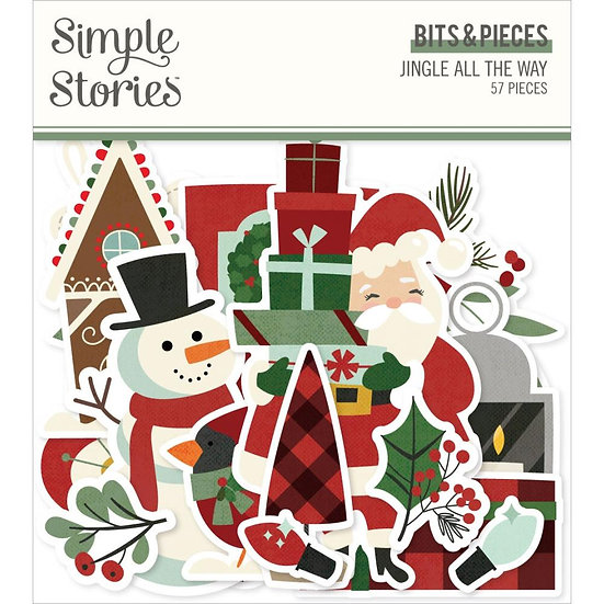 Simple Stories / Jingle All the Way Bits & Pieces Ephemera