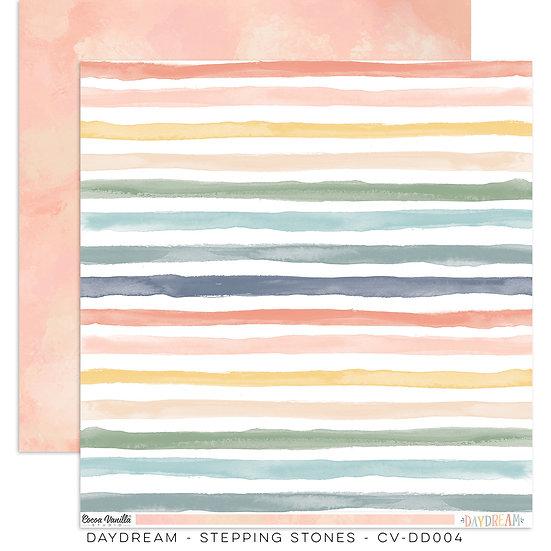 Cocoa Vanilla Studio 12 x 12 Paper -Daydream -  Stepping Stones