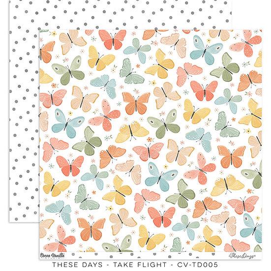 These Days 12 x 12 Paper Take Flight // Cocoa Vanilla Studio
