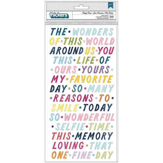 Paige Evans Wonders Thickers Stickers