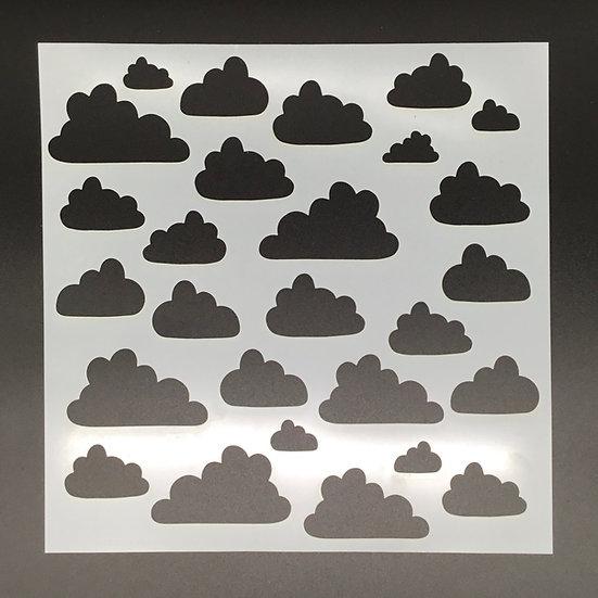 Cloudy Day Stencil