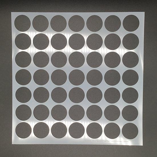 12 x 12 Big Circle Stencil