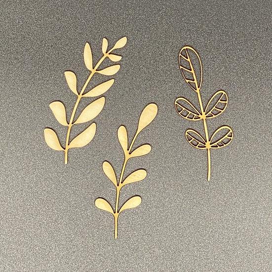 Leaves #1 Wood Veneer