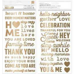 The Avenue / Jen Hadfield Pebbles  Puffy Phrase Stickers