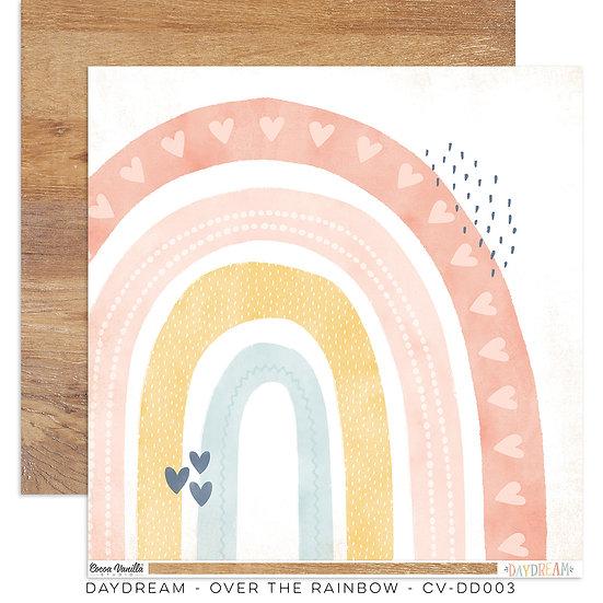 Cocoa Vanilla Studio 12 x 12 Paper - Daydream - Over the Rainbow