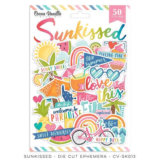 Cocoa Vanilla Studio  Sunkissed - Die Cut Ephemera