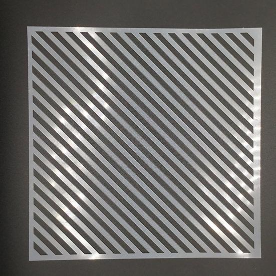 12 x 12 Diagonal Stencil