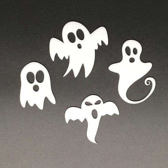 Ghosties Acrylic Set of4