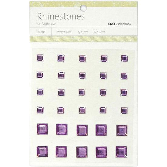 Kaisercraft Purple Rhinestones