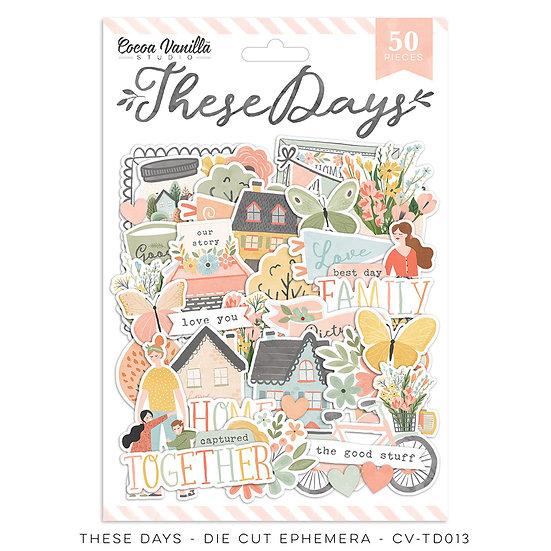 These Days Die Cut Ephemera // Cocoa Vanilla Studio