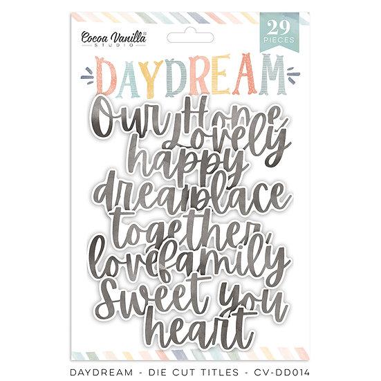 Cocoa Vanilla Studio - Die Cut Titles - Daydream