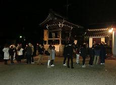 除夜の鐘撞|浄光寺