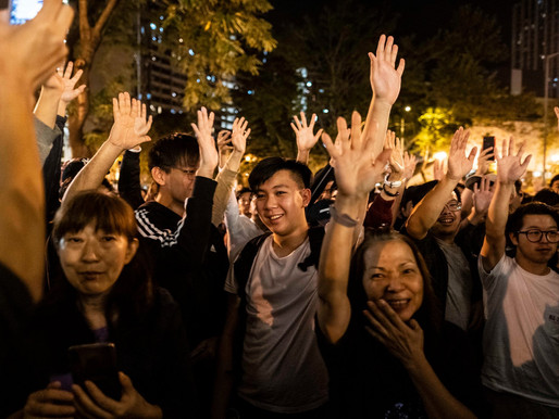 Opinion: Last month, democracy was victorious in Hong Kong