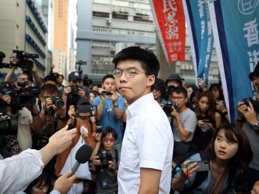 Joshua Wong in profile