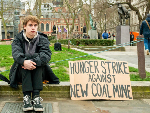 British teenager goes on hunger strike in fight against coal mine