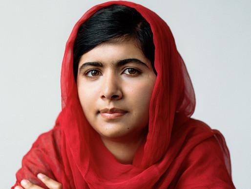Malala Yousafzai in profile