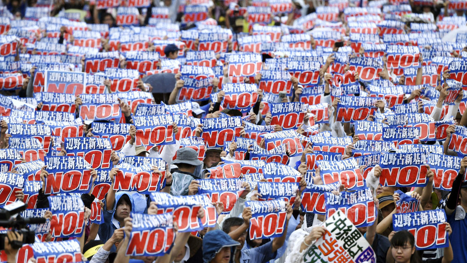 Opinion: We must stand up for Okinawa