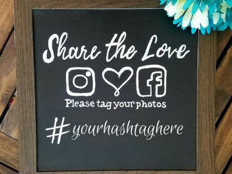 #HASHTAG  YOUR WEDDING