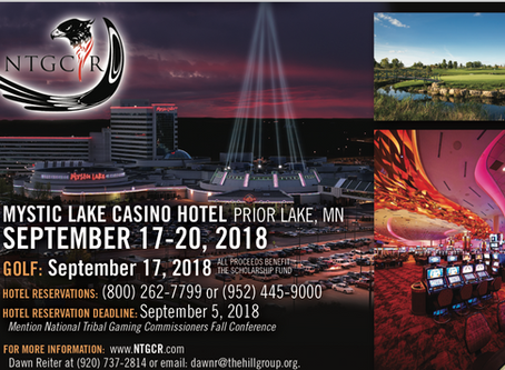NTGCR 2018 Fall Conference @Mystic Lake Casino Hotel