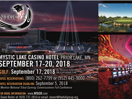 NTGCR 2018 Fall Conference @Mystic Lake Casino Hotel