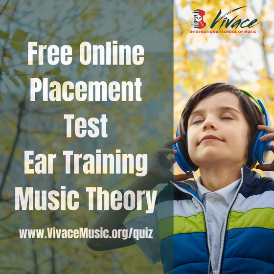 Free Online Placement Test | Vivace Ear Training & Music Theory