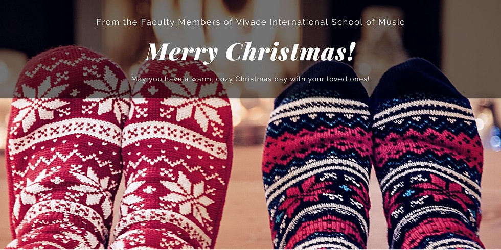 Faculty Christmas Concert | Vivace Online Mini Faculty Concert Series | 2020-21 Season - III