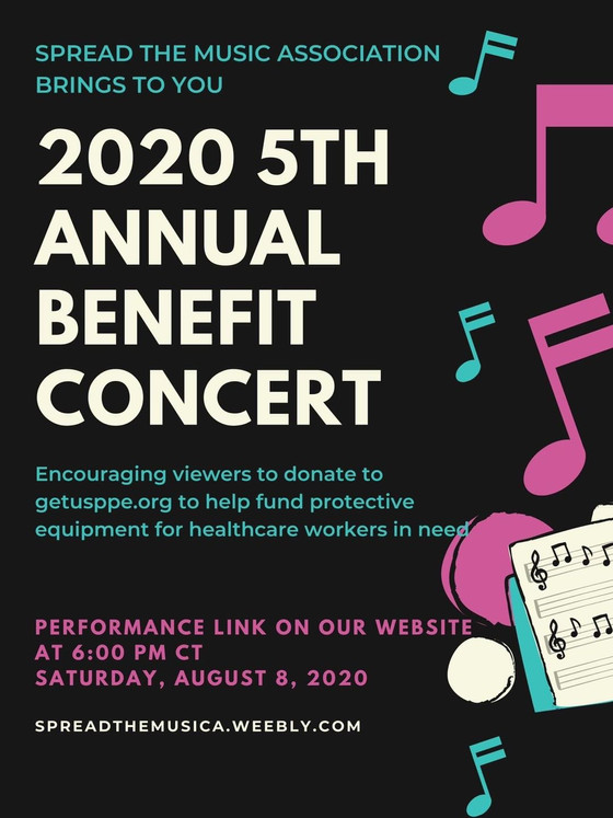 5th Annual Spread the Music Benefit Concert 2020
