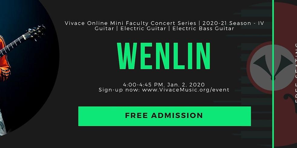 Vivace Online Mini Faculty Concert Series | 2020-21 Season - IV Guitar | Electric Guitar | Electric Bass Guitar