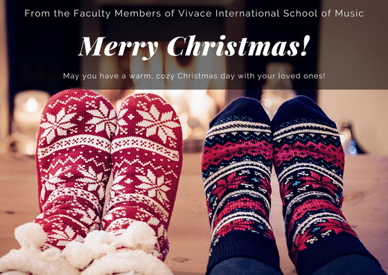 Faculty Christmas Concert | Vivace Online Mini Faculty Concert Series | 2020-21 Season - III