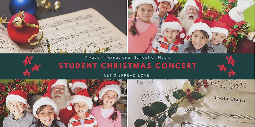 Student Christmas Concert | Vivace International School of Music | ETKS