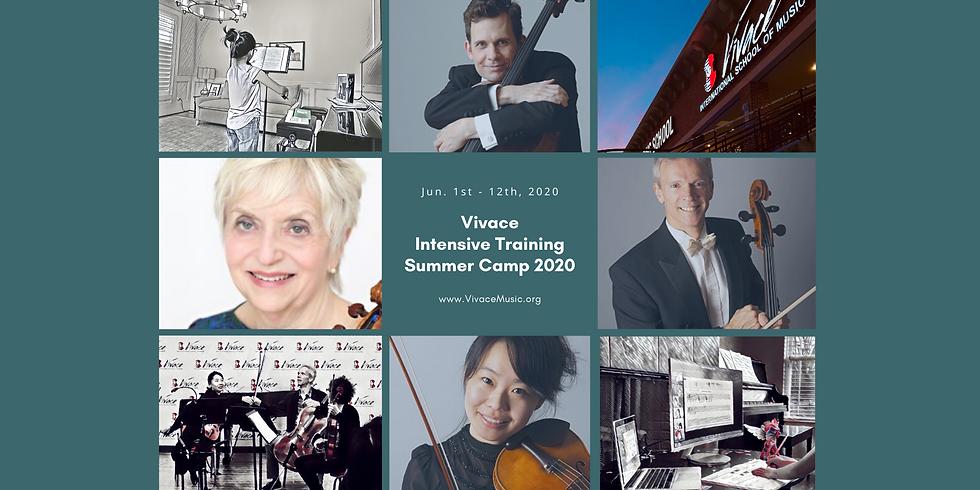 Vivace Intensive Training Summer Camp - A - Violin & Cello