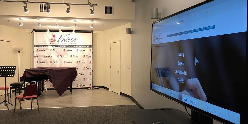 Violin | Vivace Virtual Open House (Free Event) | Mr. Hou