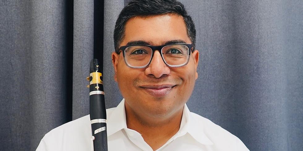 Clarinet   Vivace Virtual Open House (Free Event)   Mr. Cisneros