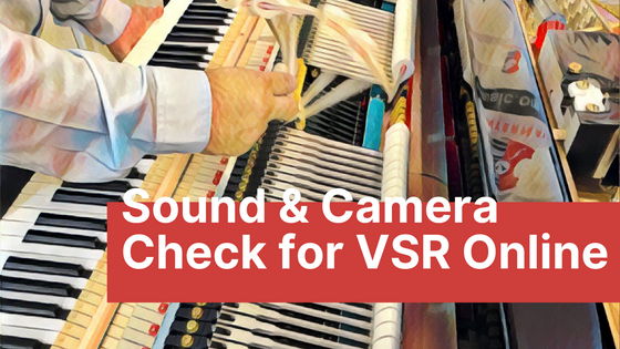 Sound & Camera Check Time Order for Vivace Student Recital Series 2020-21 Season - III