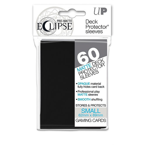 Eclipse Card Sleeves (Small) Black 60ct.