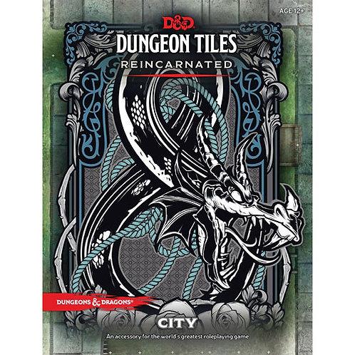 D&D Dungeon Tiles - City
