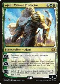 Ajani, Valiant Protector (Foil)