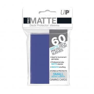 Pro Matte Card Sleeves (Small) Blue 60ct.