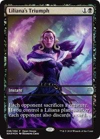 Liliana's Triumph (Promo) (Foil)