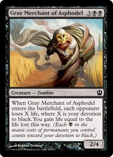 Gray Merchant of Asphodel (Foil)