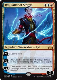 Ral, Caller of Storms (Foil)