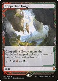 Copperline Gorge (Expedition) (Foil)