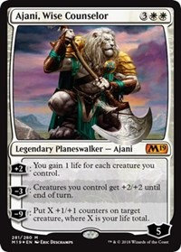 Ajani, Wise Counselor (Foil)