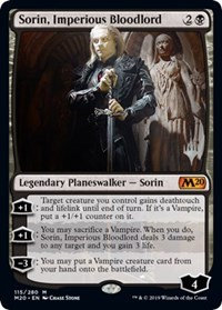 Sorin, Imperious Bloodlord (Promo Pack)