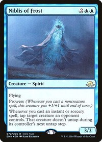 Niblis of Frost (Promo) (Foil)